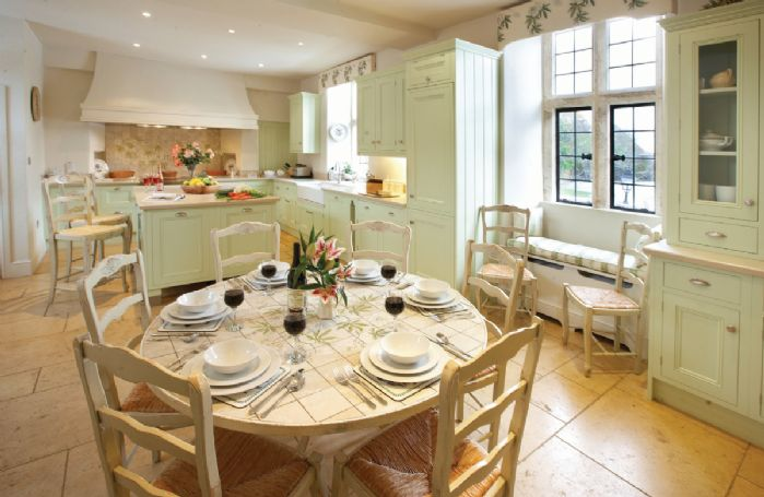 Ground floor: Large farmhouse kitchen
