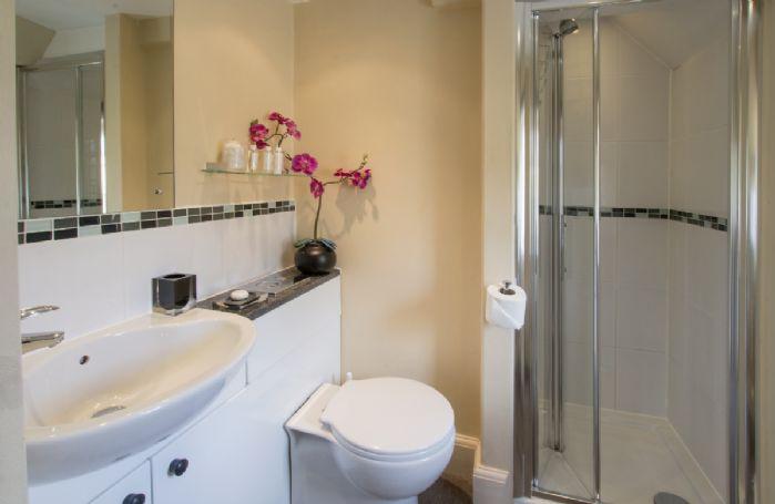First floor:  En suite shower room