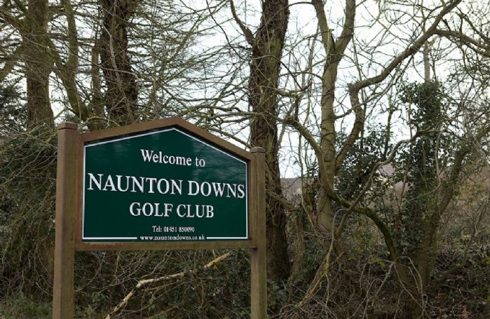 Naunton Downs Golf course is within the village