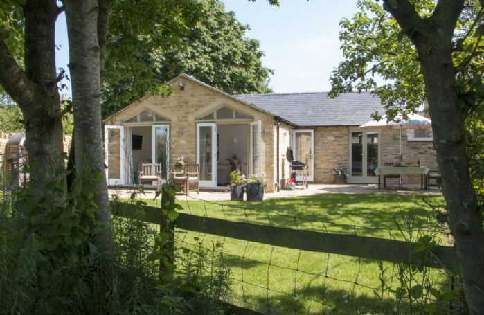 Hunter Cottage is completely private and opens up on to a large, private field with a fruit orchard and wild flowers, allowing access for lovely, country walks