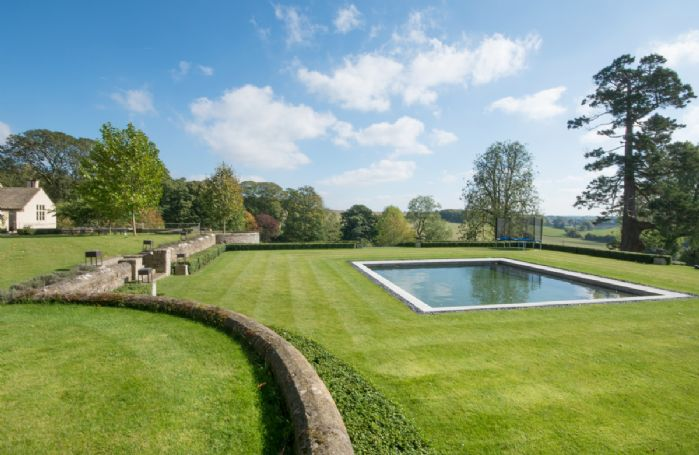 An outdoor heated swimming pool is available daily use between 10am - 5pm during the summer months