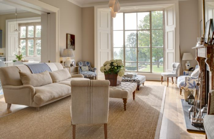 Ground floor: The kitchen opens out on to a comfortable family room