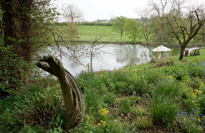 Large shared garden, with picnic table and chairs for exclusive use