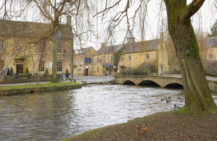 The picturesque Bourton-on-the-Water,  the Venice of the Cotswolds