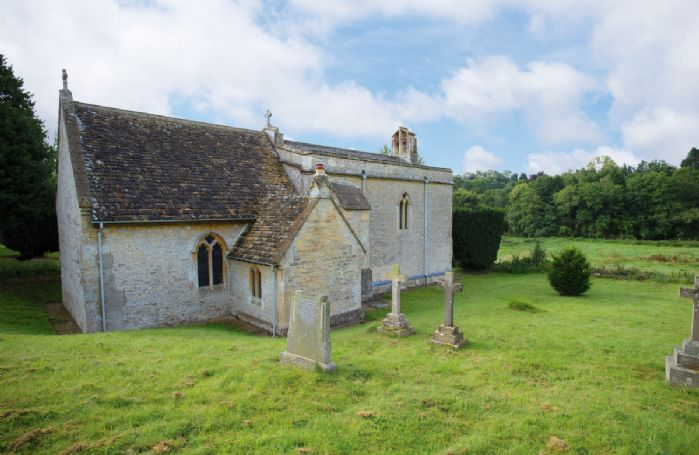 The picturesque church of St Mary Magdalene