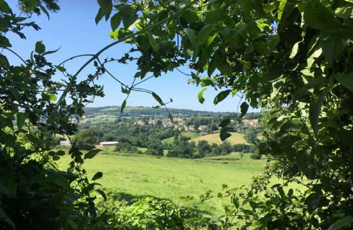 View of Painswick, nestled in the Cotswolds