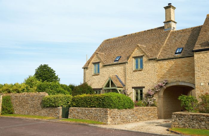 The Farriers, a sunny Cotswold stone cottage situation in the heart of the picturesque village of Southrop