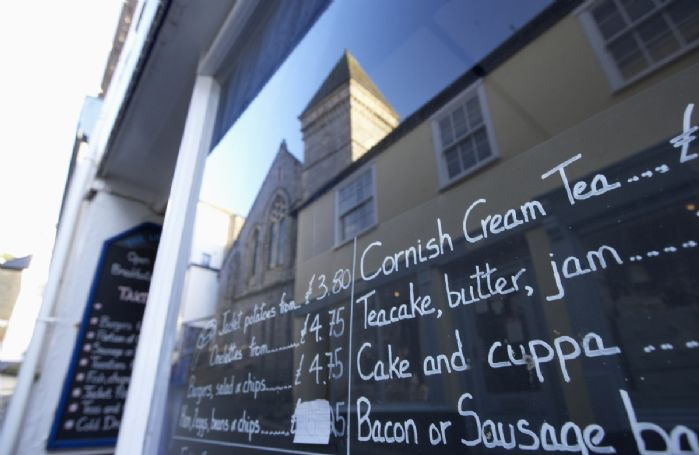 Make time for a Cornish cream tea in Fowey