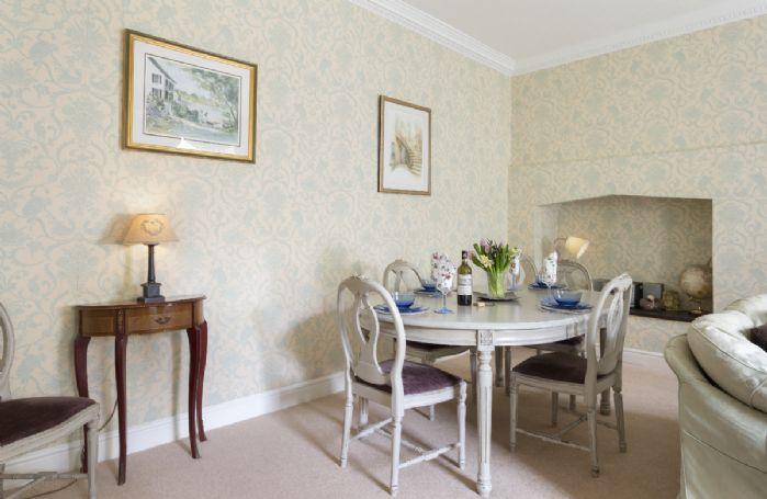 Lower ground floor:  Dining area of sitting room