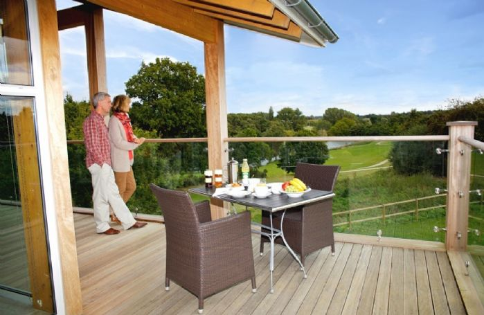 Stunning views from the lodges
