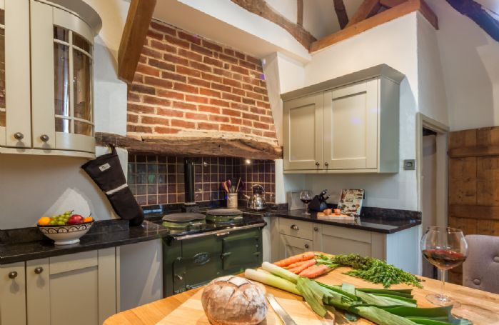 Ground floor: Beautiful kitchen with AGA range and breakfast bar