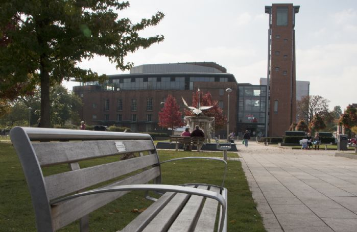 The Royal Shakespeare Theatre on the banks of the River Avon