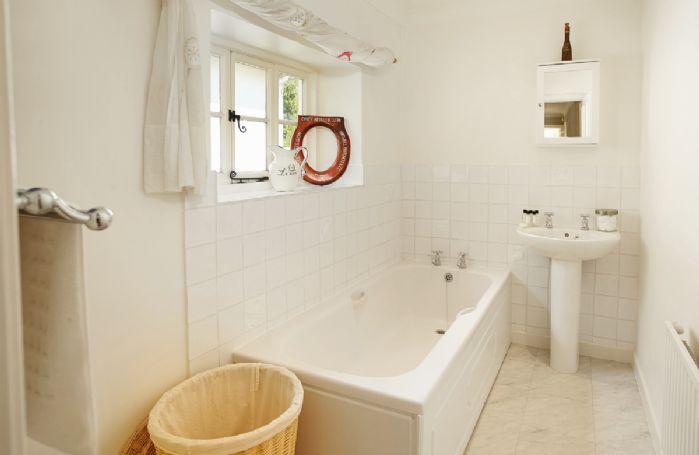 First floor:  Bathroom (no wc)