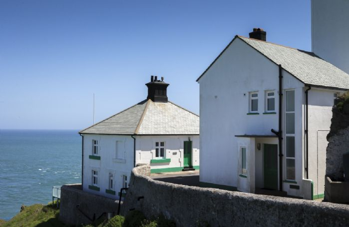 Landward Cottage with accommodation for 5 Guests and Beacon Cottage with accommodation for 6 Guests are situated at Start Point on a dramatic headland above Start Bay in the South Hams between Dartmouth and Salcombe
