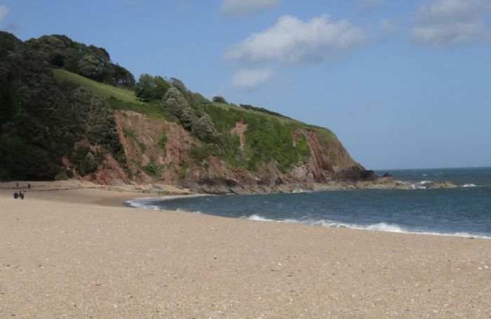 Blackpool Sands (about 7 miles from Dittisham)