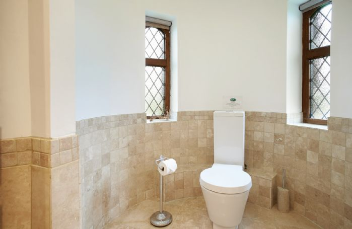 Lower ground floor:  En-suite bathroom with shower over
