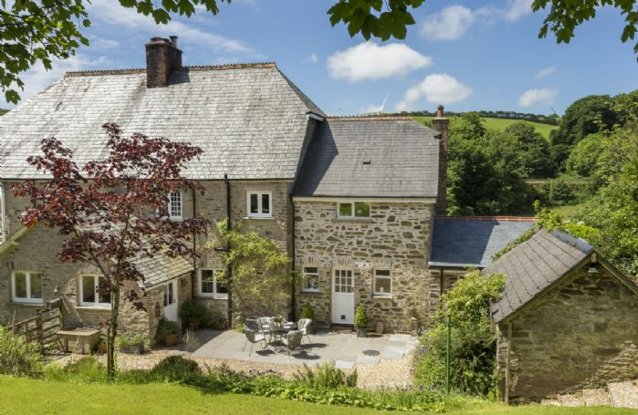 Bittadon Cottage is surrounded by its own private gardens