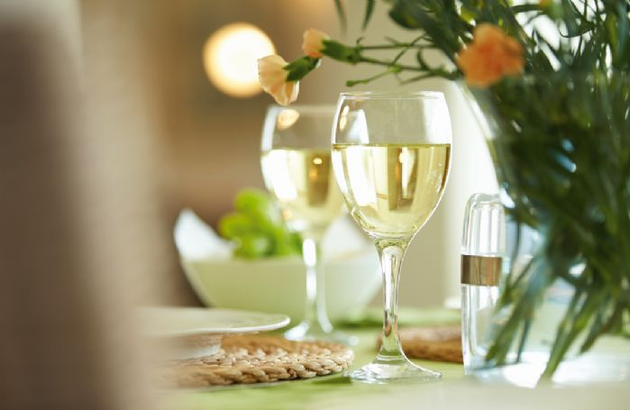 Relax and unwind over dinner at Woodland Cottage