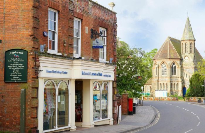 Visit the quaint market town of Holt just short drive away
