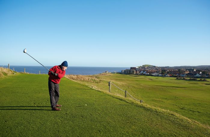 Sheringham Golf Course within walking distance