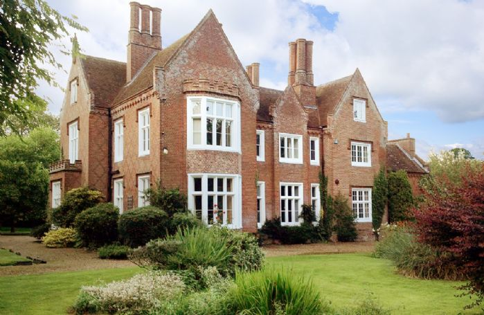 The Old Rectory in Norfolk is a luxury self catering holiday home which stands in its own parkland next to the church surrounded by open countryside