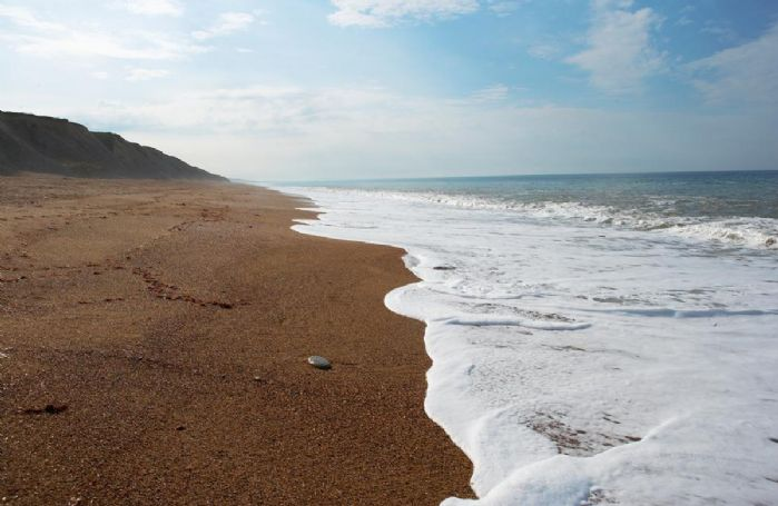 Hive Beach at Burton Bradstock in Dorset