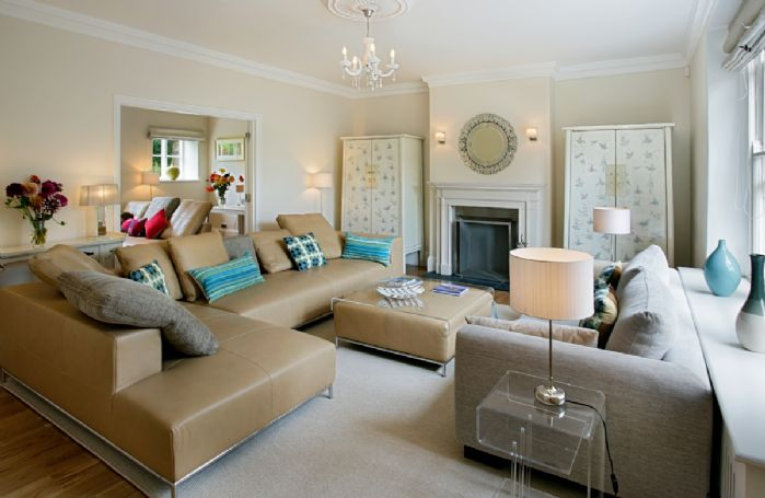 Ground floor: Main sitting room with open fire