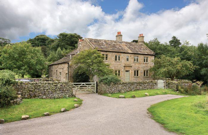 Hindlethwaite Hall, a Grade II listed 16th Century farmhouse
