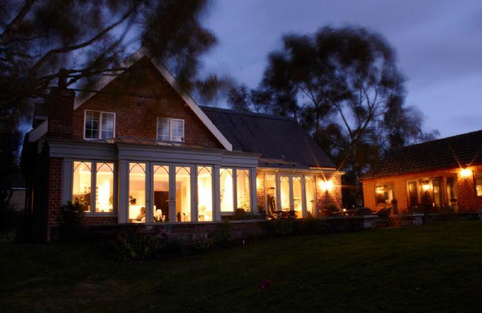 Wesley House by nightfall