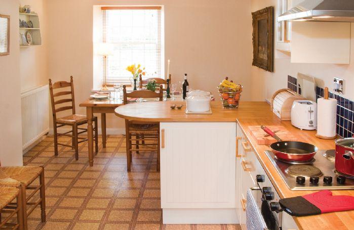 Ground floor:  Spacious kitchen/dining area