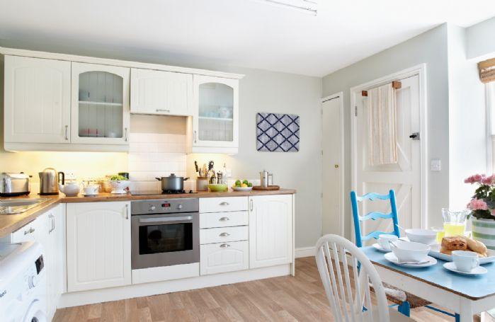 Ground floor:  Open plan kitchen/dining area