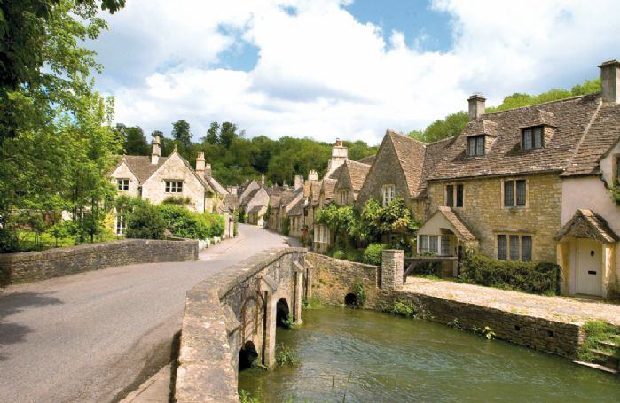 Voted England's prettiest village, Castle Combe in the Cotswolds is the perfect destination should you wish to relax. All the buildings are listed and nestled in the wooded Cotswold valley; the peaceful, tranquil atmosphere is absolutely breathtaking