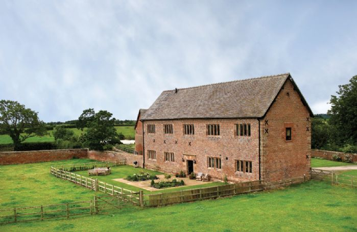 Cromwells Manor, a Grade II listed former barn built in 1620