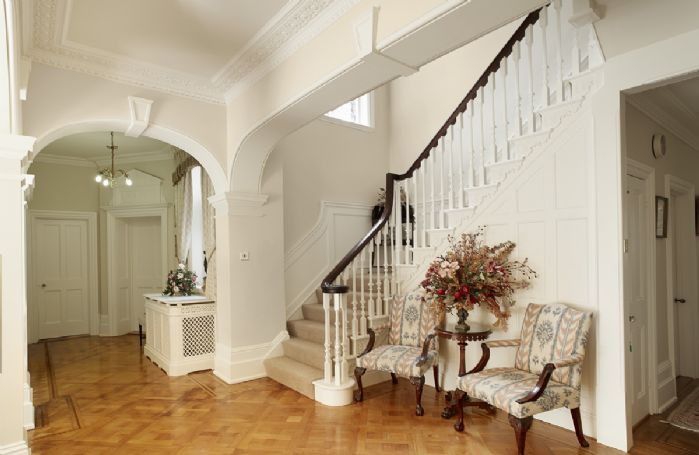 Ground floor: Entrance vestibule