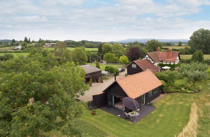 Broomers Barn is surrounded by open rolling countryside