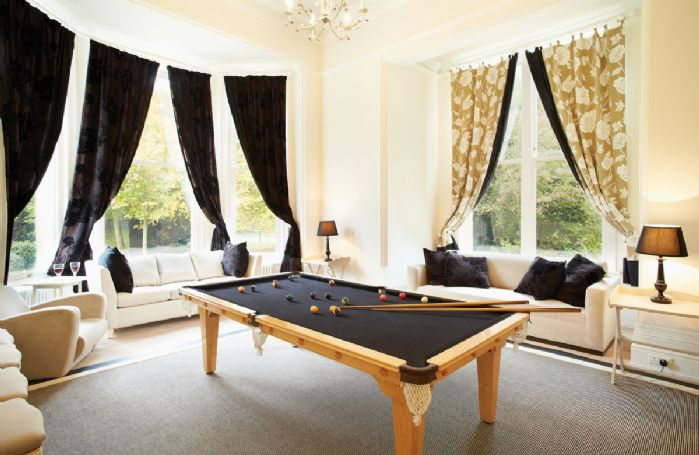 Ground floor: Snooker room