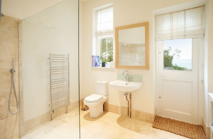 Ground floor:  Second cloakroom with walk in shower