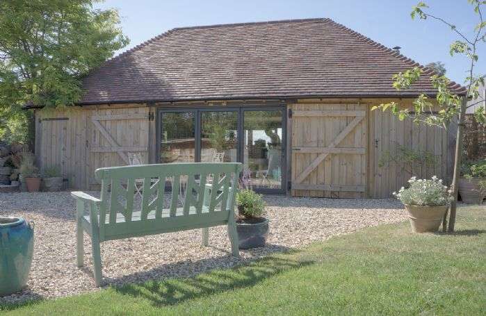 Cherrystone Barn - Building containing open plan kitchen/dining/sitting room and shower room with wc