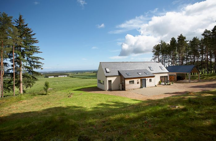 Green Neuk is set in 2 acres of woodland, which is a haven for wildlife including red squirrels and deer
