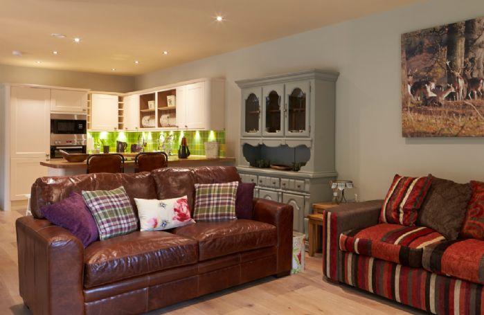 Ground floor: Open plan sitting room