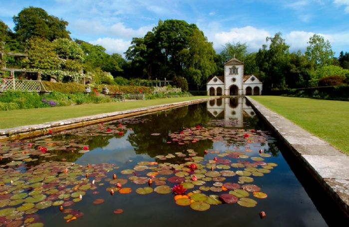 The glorious Bodnant Gardens