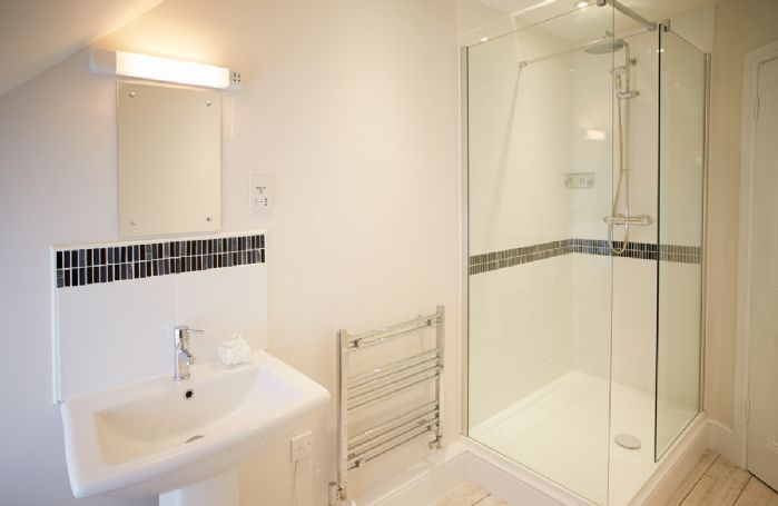 First floor:  Family shower room