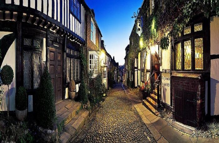 The well-known Mermaid Inn, Rye