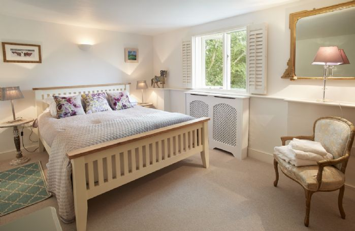 First floor: Dufton has a 5' kingsize bed which overlooks the garden