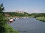Thumbnail Image - The River Arun and Arundel Castle from behind Tarante