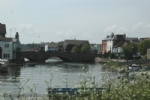 Thumbnail Image - The Causeway links with the bridge into town