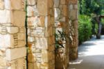 Feature Stone Pillars