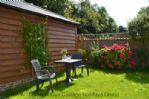 Thumbnail Image - The outside seating area in front of the cottage