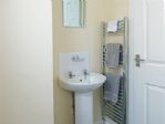 ... and has a heated towel rail