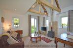 Thumbnail Image - Hillside Cottage - lounge with woodburning stove